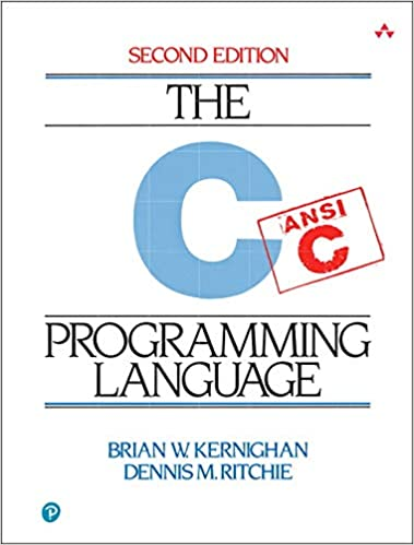 The C programming language K&R book cover
